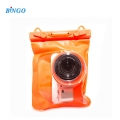 Bingo WP 0119 Waterproof Case Digital Camera Pocket for Mirroless Camera DSLR (Orange)